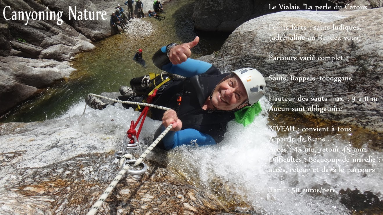 canyoning nature vialais